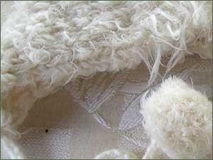 White Fuzzy Hat
